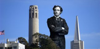 San Francisco's iconic Coit Tower was apparently modeled after the penis of the patron's husband.