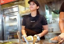"""Denise Hancock announced to her fellow Chipotle workers that """"she's just in it for the money."""""""