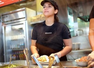 "Denise Hancock announced to her fellow Chipotle workers that ""she's just in it for the money."""