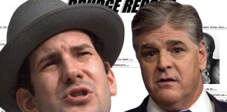 """Drudge Report operator Matt Drudge was overheard referring to Fox News commentator Sean Hannity as a """"whiner."""""""