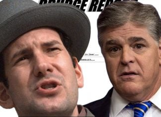 "Drudge Report operator Matt Drudge was overheard referring to Fox News commentator Sean Hannity as a ""whiner."""