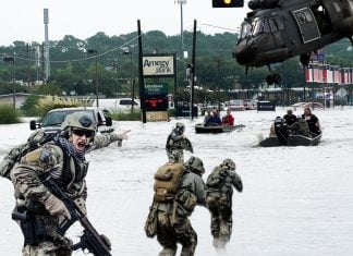 From a secret Kenyan hideout or his favorite vacation spot in his home state of Hawaii, former President Obama deployed several Jade Helm squads to aid in hurricane relief.
