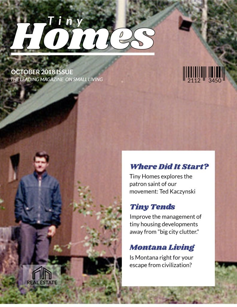 The October issue of Tiny Homes magazine celebrates the founder of the tiny home moment.