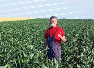 St. George, Kansas soybean farmer Davis Lipton says he was paid to make up a story of about a Nevada City local activist's travels.