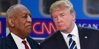 During a telephone interview on Fox News' Fox and Friends, President Trump hinted that he might pardon Bill Cosby.