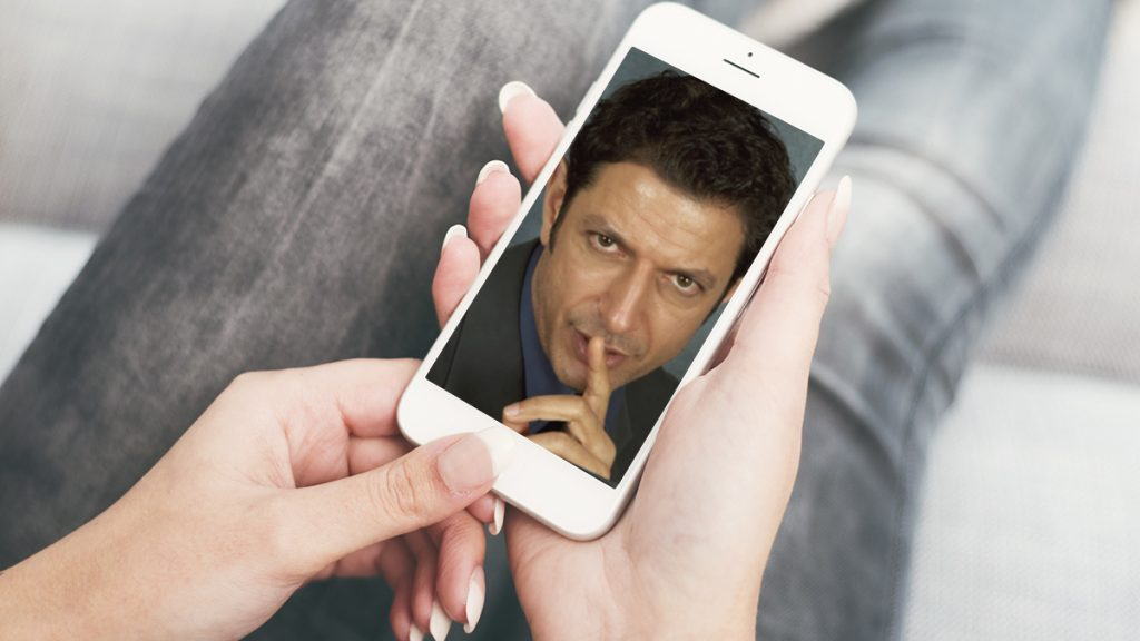 After several months of research, Apple Corporation has decided to replace Siri with Jeff Goldblum.