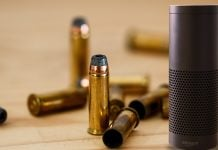 Amazon's Alexa personal assistant is canceling gun owner's orders, leading to accusations of deep state involvement.