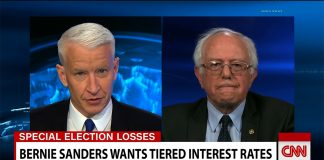 """Senator Bernie Sanders of Vermont is proposing """"tiered"""" interest rates based on your income."""