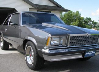 Tesla is making history again with its new like of retro electric cars. Featured here is their version of the 1982 Chevrolet Malibu.
