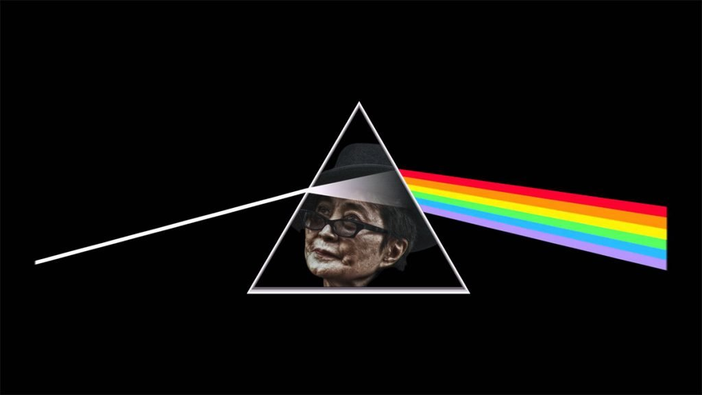 Yoko Ono Covers Dark Side of The Moon