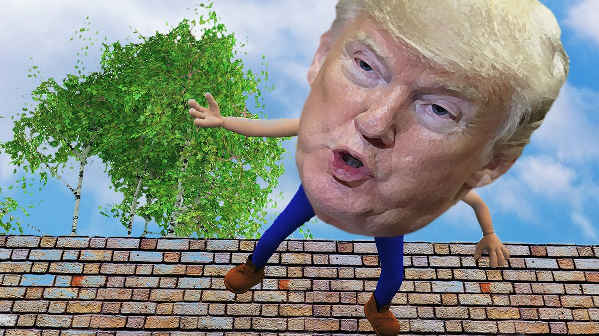 Mr. Dumpty expressed his doubts about Mr. Trump ever fully recovering.