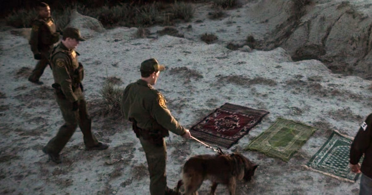 Border immigration and DEA officials now admit that prayer rugs found at the Mexican border were apart of an elaborate prank.