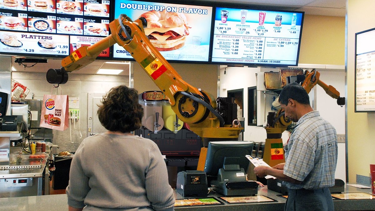 Burger King Preps 60,000 Mexican Replacement Robots