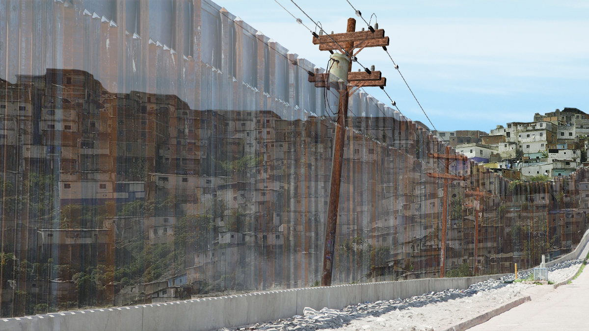 """A source close to President Trump said that he would be willing to settle for a """"Holographic Wall"""" along the Mexican border."""