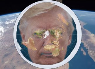 "A Group of Flat Earth believers is calling on President Trump to stop using the word ""globalist."""