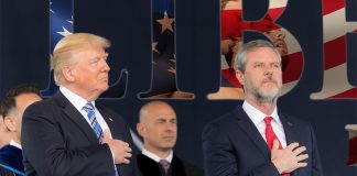 The President of the conservative Christian Liberty University had some odd words for his students.