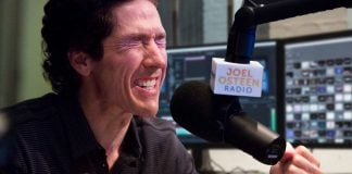Controversial Houston-based evangelical preacher Joel Olsteen had to apologize for what he claims was an accidental vulgarity.