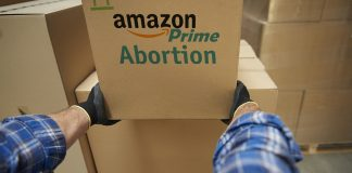 Amazon.com is going to start delivering Earth's first home abortion kit.
