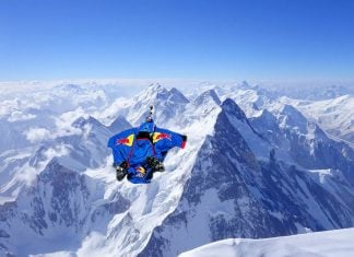 Dr. Margaery Turell said this was the fastest way down the world's tallest mountain.