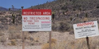 President Trump hinted that secret documents might be stored at Area 51.