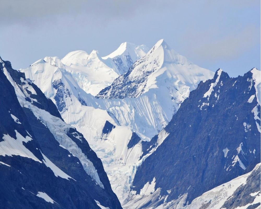 bird's-eye view of mountain