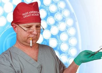Pro-Trump-Surgeon-Goes-Mask-Commando-During-Procedure